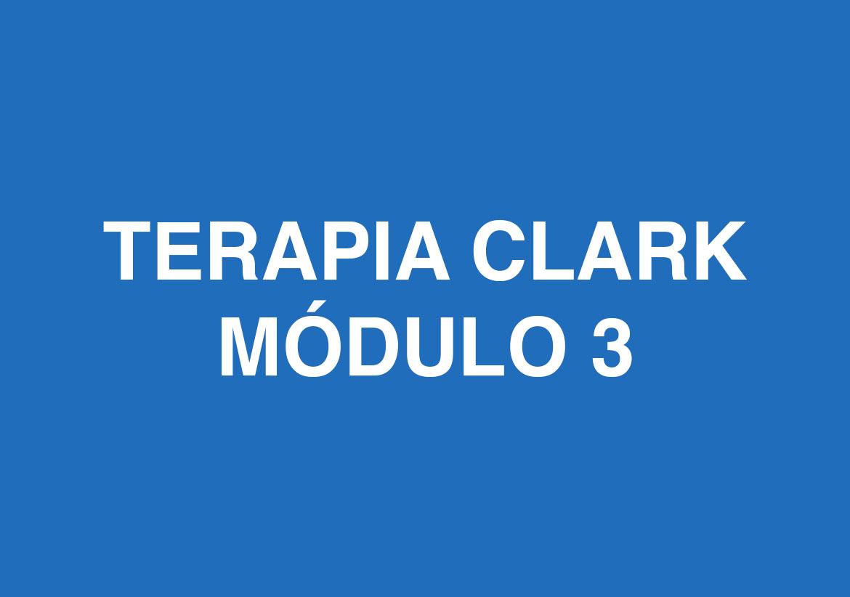 Curso de Terapia Clark - Módulo 3